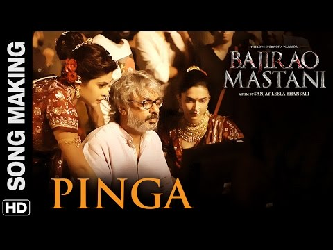 Pinga (Song Making) | Bajirao Mastani |...
