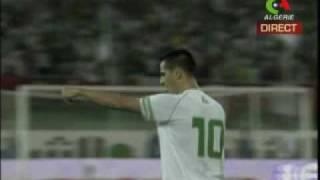 Algerie Zambie retour a Blida 2009 1-0