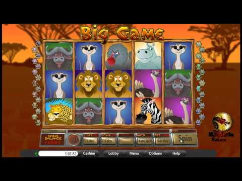 Big Game Online Casino Video Slot (BetOnSoft)
