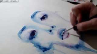 Watercolor Painting of Lee SooHyuk