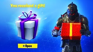 *NEW* FREE SKIN GIFTS IN FORTNITE! (Free Gift)