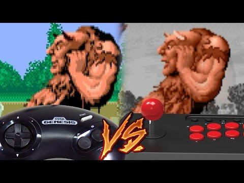 Sega Genesis Vs Arcade - Altered Beast