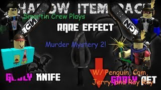 Roblox Murder Mystery 2! Part 11 GLITCHES EVERYWHERE! W/ Penguin, Com, and Jerry