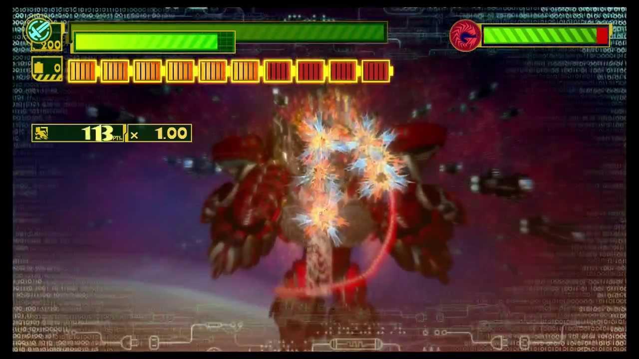 The Wonderful101 - Jergingha Planet Destruction Form Battle - YouTube