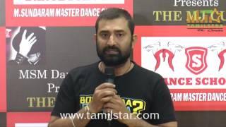 MSM Dance Company Press Meet Regards MJ Cup
