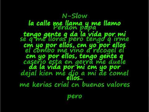 endo y lele ft.n-slow - perdon papa