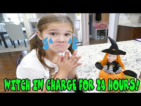 Halloween Switch Witch In Charge For 24 Hours! Halloween Elf On The Shelf
