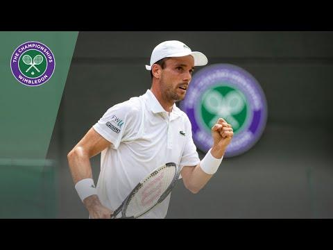 Match Point: Roberto Bautista Agut vs Guido Pella Wimbledon 2019