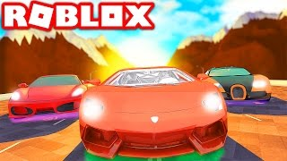 FASTEST CAR IN THE WORLD IN ROBLOX! (Roblox Vehicle Simulator)