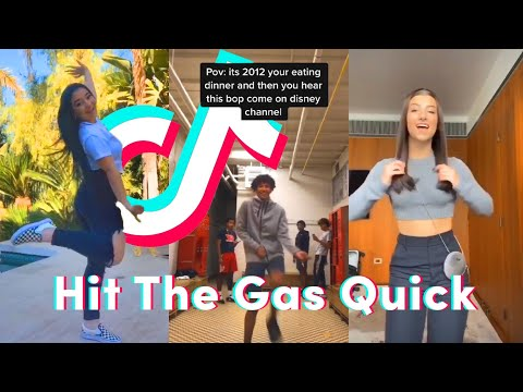 Hit the Gas Quick TikTok Dance Compilation (Ready or Not - Bridgit Mendler)