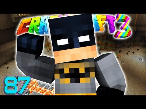 Minecraft Crazy Craft 3.0: I'M BATMAN SUPER HERO ROOM CHAMBER #87 (Moded Roleplay)