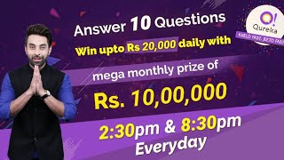 Qureka live quiz game app | Win lakhs | screenshot 3