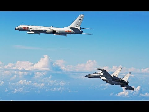 Japan fighter jets INTERCEPT China's bombers