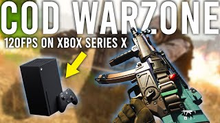Call of Duty Warzone running at 120FPS on Xbox Series X!