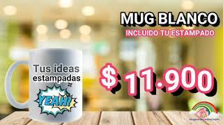Mugs personalizados, Mugsmarcados.com, regalos Personalizados, Mug blanco en ceramica.