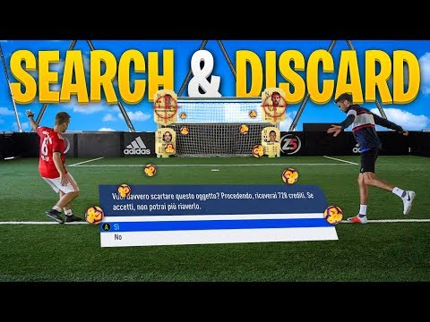 FOOTBALL SEARCH AND DISCARD!!! - ENRY LAZZA vs OHM | Fifa 19 Ultimate Team