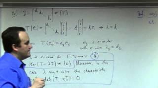 Linear Algebra: Lecture 27