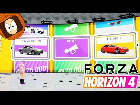 FORZA HORIZON 4 - 100 SUPER WHEELSPIN OUVERTURE !!