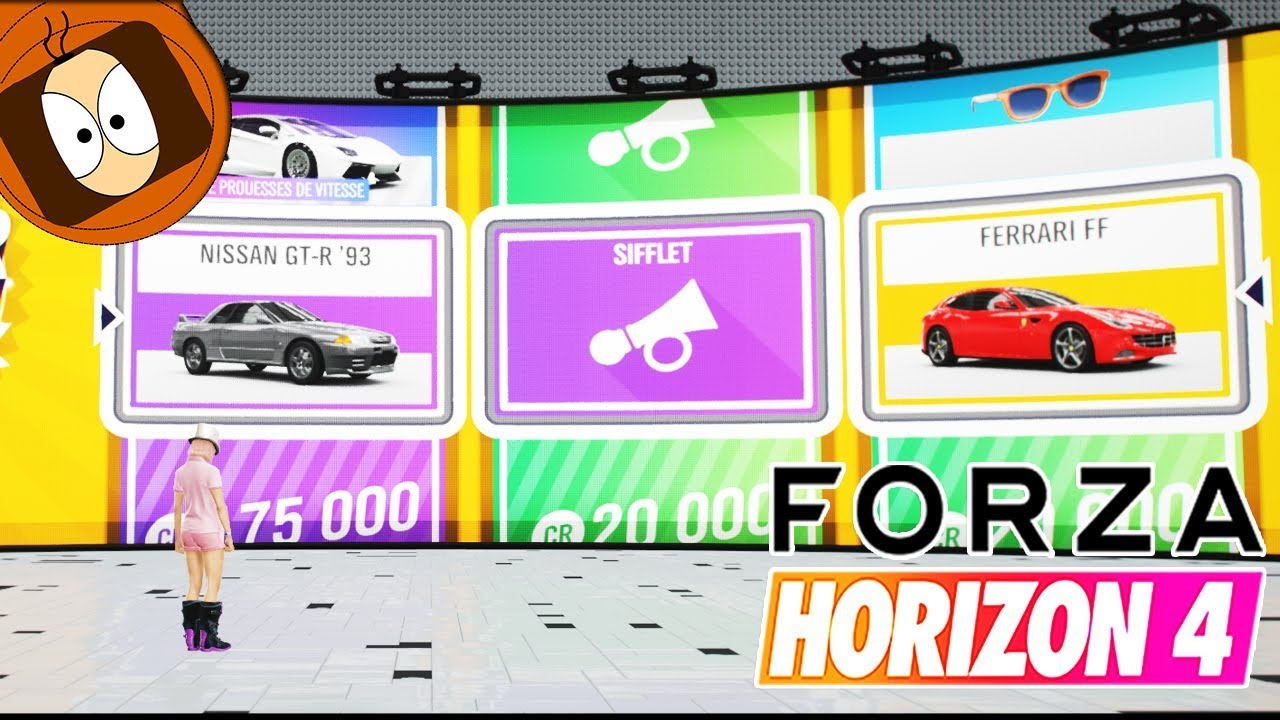 FORZA HORIZON 4 - 100 SUPER WHEELSPIN OUVERTURE !! thumbnail