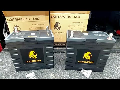These Are A HUGE Upgrade To Any RV, Trailer, Or Boat! LION Energy LiFePo4 Batteries!