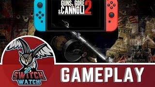 Guns, Gore and Cannoli 2 Nintendo Switch Gameplay - Handheld!