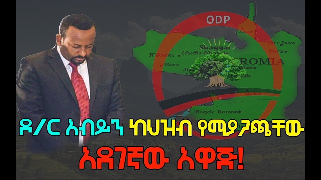 ODP new statement regarding the federal system and the issue of Addis Ababa