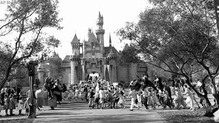 What Disneyland looked like in 1955