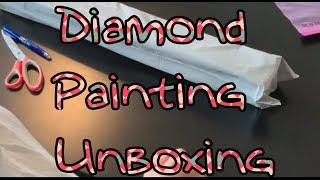Diamond Painting Unboxing Huacan Aliexpress