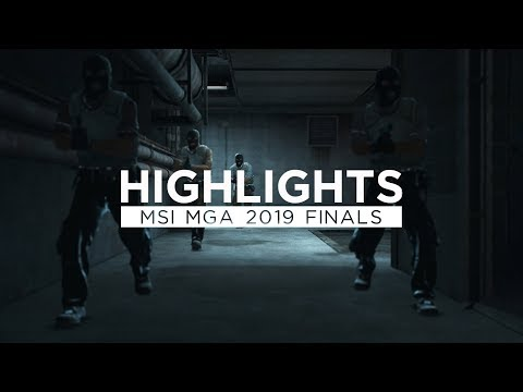 Gambit Youngsters Highlights @ MSI Gaming Arena 2019