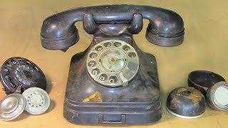 Restoration Antique Phone in 1956 📞☎