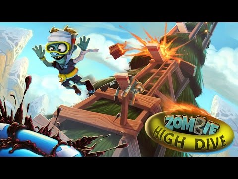 Zombie High Dive - iOS / Android - HD Gameplay Trailer