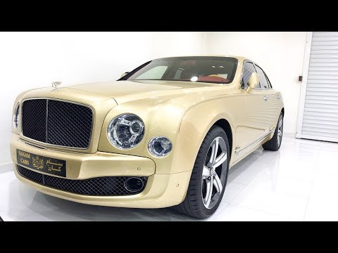 2017 Bentley Mulsanne Speed  Startup  Exhaust  Complete Review  Dubai