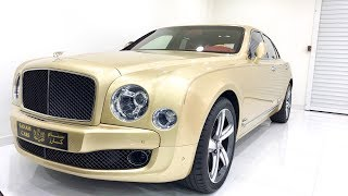 2017 Bentley Mulsanne Speed| Startup| Exhaust| Complete Review| Dubai