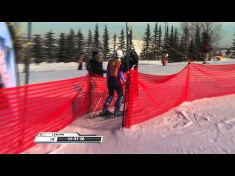 CHASING LIMITS - Alberta Cup Women's slalom skiing 2016