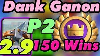 [Part 2] Dank Ganon 150 Wins  Gameplays Global Tournament