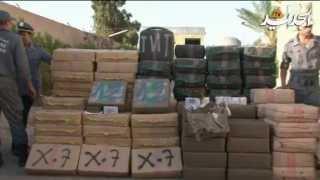الجمارك الجزائرية تحجز أكثر من 29 قنطار من الكيف المعالج بالوادي