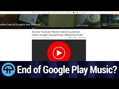 Goodbye Google Play Music?