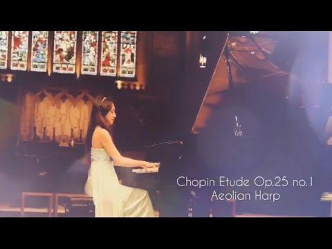 Veronica Yen/維若妮卡: Chopin Etude Aeolian Harp