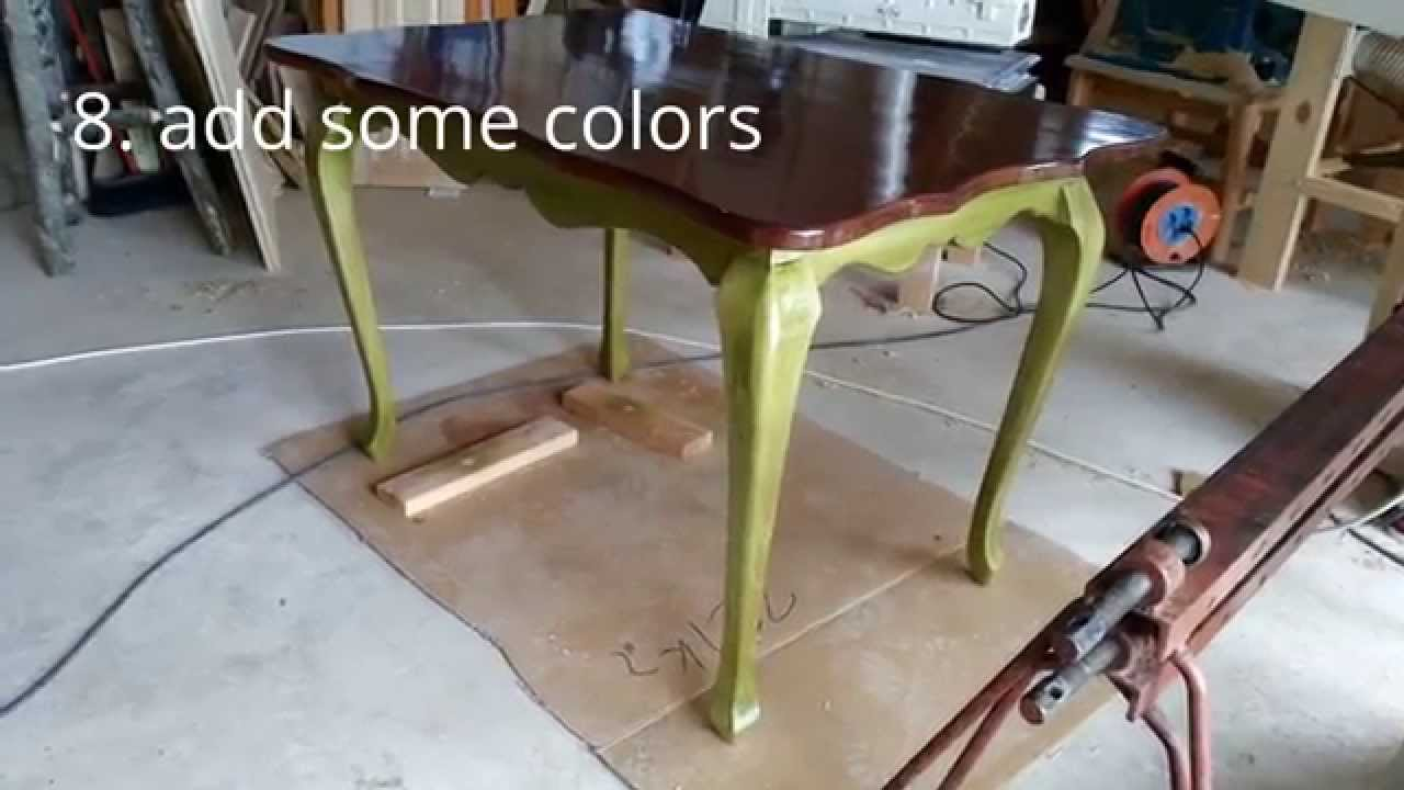 How To Make Cabriole Leg Dining Table   YouTube