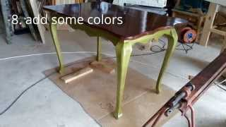 How To Make Cabriole Leg Table