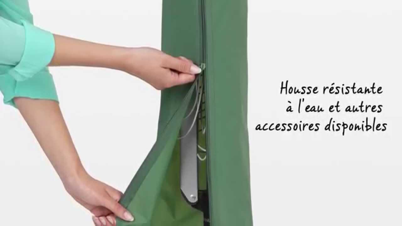 s choir linge parapluie topspinner de brabantia youtube. Black Bedroom Furniture Sets. Home Design Ideas