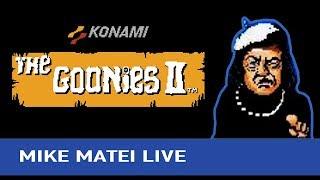 Goonies 2 (NES) Mike Matei Live