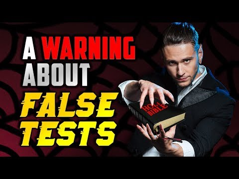 To Seventh-day Adventists: A Warning About False Tests
