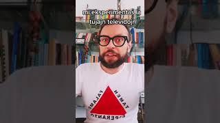 Esperanto ĉe tujaj televidoj. #esperanto #language #shorts