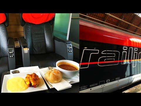 ÖBB Railjet Business