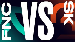 FNC vs. SK - Week 7 Day 2 | LEC Summer Split | Fnatic vs. SK Gaming (2021)
