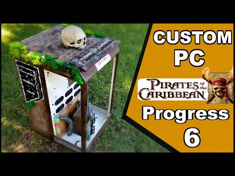 Pirates of The Caribbean PC Build Progress 6 - Painting & Building