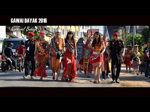 GAWAI DAYAK SANGGAU 2016 - Karnaval Budaya