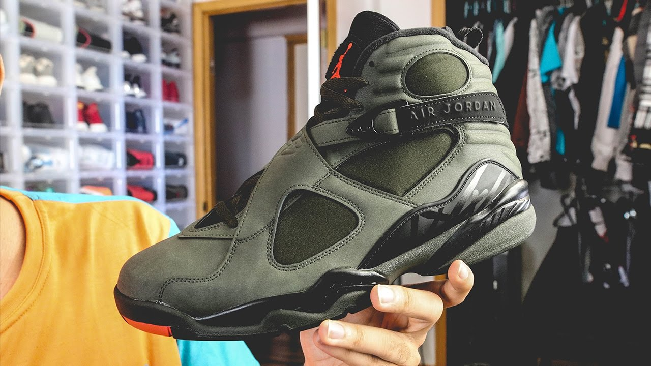 new concept eed44 4d138 Air Jordan 8 Sequoia Undefeated First Look!!!