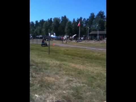 Very fast 2 stroke turbo snowmobile